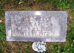 Ambel <i>Hodge</i> Beard