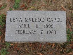 Lena Tatia <i>McLeod</i> Capel
