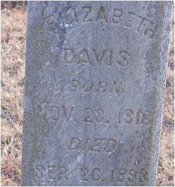 Elizabeth <i>Reeder</i> Davis