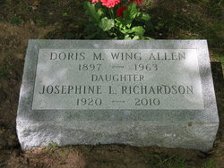 Doris M <i>Wing</i> Allen