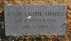 Annie Laurie <i>Shadle</i> Funk