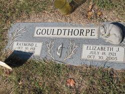 Elizabeth Jane Betty <i>Morris</i> Gouldthorpe