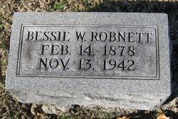 Bessie W. Robnett