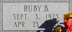 Ruby <i>Burroughs</i> Aycock