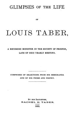 Elder Louis Taber