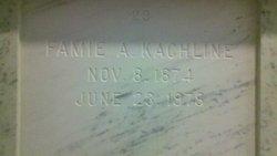 Fannie Agnes <i>Fluck</i> Kachline