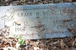 Grace M Boswell