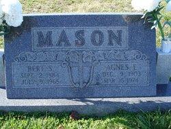 Agnes Elsie Mason