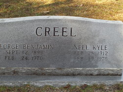 Nell <i>Kyle</i> Creel