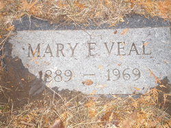 Mary Elizabeth <i>Thomas</i> Veal