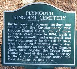 Plymouth Kingdom Cemetery