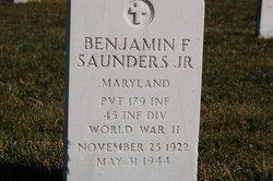Pvt Benjamin F Saunders, Jr