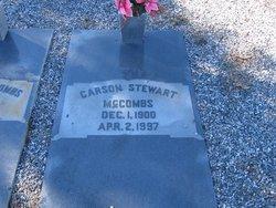 Carson <i>Stewart</i> McCombs