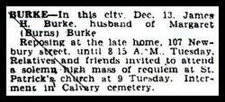 James Henry Jimmy Burke, Sr