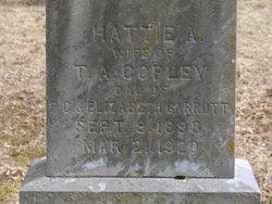 Hattie A. <i>Garrett</i> Copley