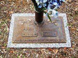 Annie P <i>Doggett</i> Bowman