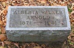 Alberta <i>Walker</i> Arnold