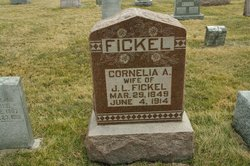 Cornelia Ann <i>Ford</i> Fickel