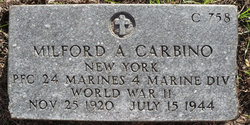 PFC Milford A. Carbino