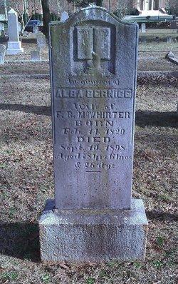 Alba Bernice <i>Wilson</i> McWhirter