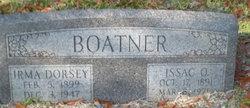 Irma <i>Dorsey</i> Boatner