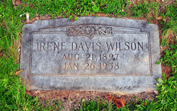 Irene <i>Davis</i> Wilson