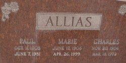 Mary Lodica Marie <i>Spencer</i> Allias