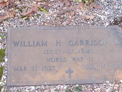 William Henry Garrison, Jr