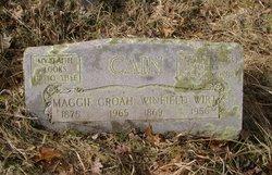 Margaret Elizabeth Maggie <i>Groah</i> Cain
