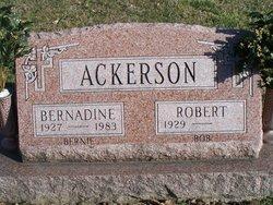 Bernadine Bernie <i>Bradway</i> Ackerson