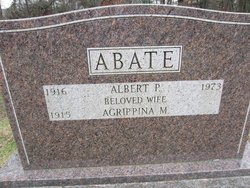 Agrippina M. Abate