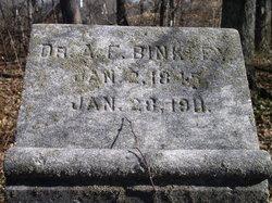 Dr Alexander Franklin Binkley