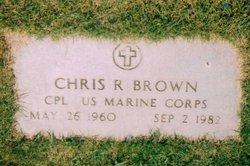Corp Chris Randall Brown