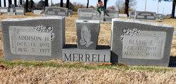 Bessie E <i>Davis</i> Merrell
