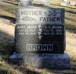 Mary Ann <i>York</i> Brown
