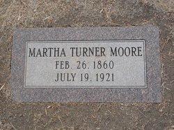 Martha <i>Turner</i> Moore