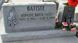 Aspazie Pazie <i>Davis</i> Batiste
