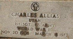 Sgt Charles Allias