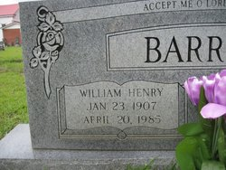 William Henry Gully Henry Barrett