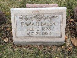 Emma R. <i>Buchholz</i> Bauer