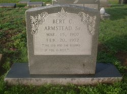 Bert Carlson Armstead, Sr