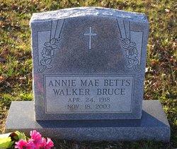 Annie Mae Betts <i>Walker</i> Bruce