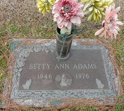 Betty Ann Adams