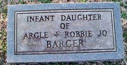 Infant Daughter Barger