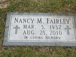 Nancy Margaret <i>Byrd</i> Fairley
