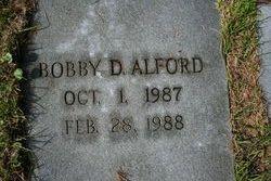 Bobby D Alford