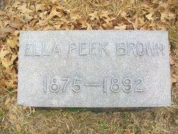 Ella Peek Brown