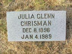 Julia Glenn Chrisman