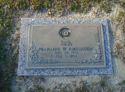 Sarah Pearline Woodard Amsbaugh