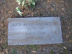 John Read Gaudry, III